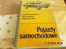 Stara Ksiazka ;Pojazdy Samochodowe;z 1969 - 1