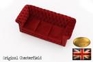 Chesterfield sofa 3 os Fluweel z zamszu - 4