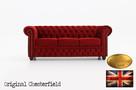 Chesterfield sofa 3 os Fluweel z zamszu