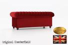 Chesterfield sofa 3 os Fluweel z zamszu - 5