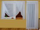 Firany i zasłony do pokoju, firany na taras i balkon, szycie - 1