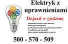Elektryk z uprawnieniami instalacje awarie podłączenie płyty