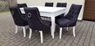 Krzesło pikowane z kołatką i pinezkami Producent glamour - 7