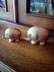 2 słonie. Żyrafa z mosiądzu