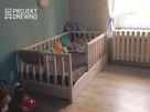 SZYBKA REALIZACJA/ Drewniane nowoczesne łóżko dla dziecka