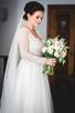 Piękna suknia ślubna zaprojektowana przez Patrycję Pardykę