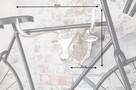 DESIGNERSKI WIESZAK NA ROWER GŁOWA BYKA silver 38442 - 5