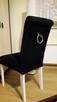 Krzesło z kołatką tapicerowane wygodne nowe producent nowe - 5