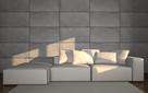 Beton architektoniczny - imitacja - panele TECTRA - ZICARO - 1