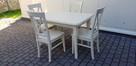 Zestaw prowansalski WANILIA-stół 120x80+4 krzesła Krzyż nowy - 1