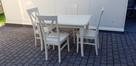 Zestaw prowansalski WANILIA-stół 120x80+4 krzesła Krzyż nowy - 2