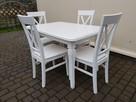 Zestaw prowansalski WANILIA-stół 120x80+4 krzesła Krzyż nowy - 3