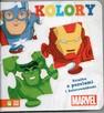 Kolory Książka z puzzlami i kolorowankami