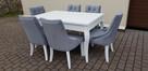 krzesło chesterfield glamour pikowane nowe z kołatką mocne - 7