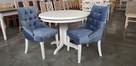 Krzesło pikowane z kołatką do salonu restauracji kuchni