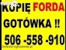 KUPIĘ FORDA MONDEO, FOCUSA, GALAXY , KA, FUSION, C-MAX....