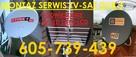 Podwieszanie tv,605 739 439 serwis montaż anten tv sat dvb-t - 1
