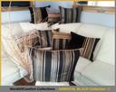 Poduszki dekoracyjne, poszewki ozdobne 50x60cm ORIENTAL BLACK