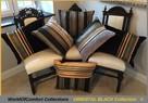 Poduszki dekoracyjne, poszewki ozdobne ORIENTAL BLACK 50x50cm
