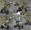 Nowy Wózek Dziecięcy Berco Skóra 3w1 z fotelem (nosidełko) - 4