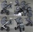 Nowy Wózek Dziecięcy Berco Skóra 3w1 z fotelem (nosidełko) - 2