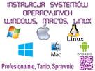 Instalacja systemów Windows MacOs Linux w całej łodzi 7 dni