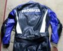 Kombinezon motocyklowy skóra Probiker 2-cześciowy rozm.58 - 1