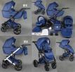 Nowy Wózek Dziecięcy Berco Skóra 3w1 z fotelem (nosidełko) - 6