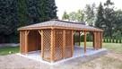 Drewniany domek na działkę 5x3m letniskowy na zamówienie - 5