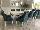 Krzesło z kołatką chesterfield pikowane z pinezkami tapicero - 3