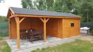 Drewniany domek na działkę 5x3m letniskowy na zamówienie - 7