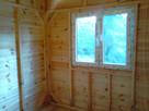 Drewniany domek na działkę 5x3m letniskowy na zamówienie - 4