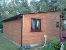 Drewniany domek na działkę 5x3m letniskowy na zamówienie - 3