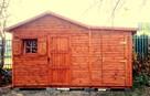 Drewniany domek na działkę 5x3m letniskowy na zamówienie - 8