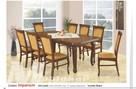Stół LORD i 8 Krzeseł AURA | Furnideco