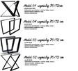 Podstawa stołu LOFT , Nogi Industrial Model 06 - 2
