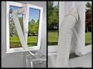 Uszczelnienie okna mobilnych klimatyzatorów SICHLER