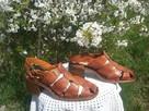 Sprzedam sandały damskie brązowe