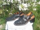 Sprzedam sandały damskie czarne - 7