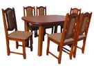 Stół |Aspen| i 6 krzeseł |Peggy| - 2