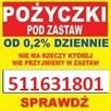 POŻYCZKI POD ZASTAW 24h szybko łatwo tanio - 2
