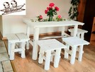 Zestaw Stół + 4 taborety