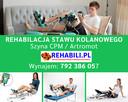 Szyna CPM Artromot staw kolanowy - Głogów, rehabilitacja