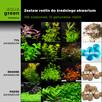 Zestaw roślin do średn. akwarium, 106 sadzonek, 12 gatunków - 1