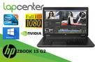 HP Zbook 15 G2 i7Q-4GEN 32GB 512SSD FHD IPS K2000M W10P - 1