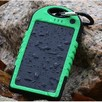 Wodoodporny power bank solarny 5000mAh 2 x USB NOWY ! - 4