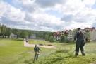 Koszenie trawy , kosą spalinową, wysoka trawa, karczowanie - 6