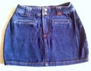 Jeansowa spódniczka dla nastolatki:)
