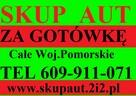 SKUP AUT KARTUZY 609911071 KASACJA AUT ŁAPALICE GARCZ