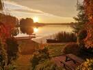 Domek na Mazurach w Rostkach Skomackich nad samym jeziorem